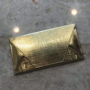 Gold Cosmetic Case
